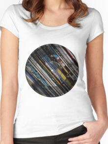 Retro LPs Women's Fitted Scoop T-Shirt