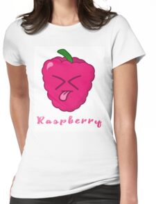 Raspberry! Womens Fitted T-Shirt