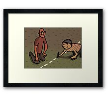 'Personal Space' Framed Print