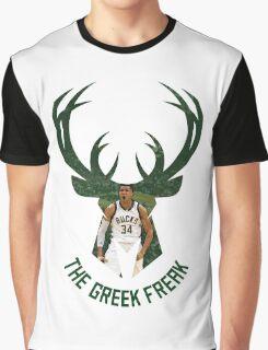 Greek Freak Graphic T-Shirt