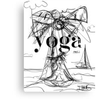 Yoga Borneo Canvas Print