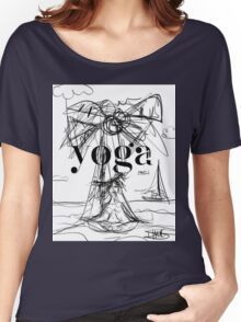 Yoga Borneo Women's Relaxed Fit T-Shirt
