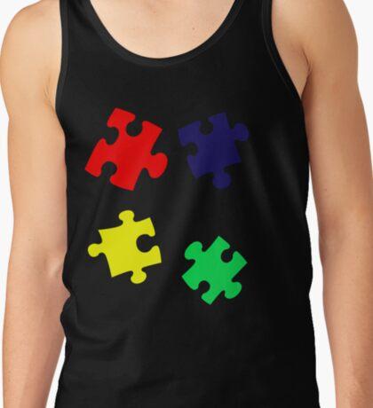 Puzzle Pieces Tank Top