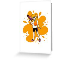FEMALE INKLING Greeting Card