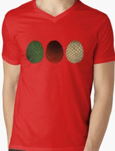 Dragon Eggs Mens V-Neck T-Shirt