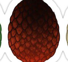 Dragon Eggs Sticker