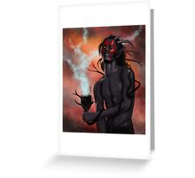 Sanguine Greeting Card