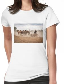 Ploughing the Field Womens Fitted T-Shirt