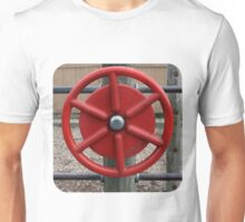 Behind the Red Wheel Unisex T-Shirt