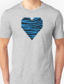 0275 French Blue Tiger Unisex T-Shirt