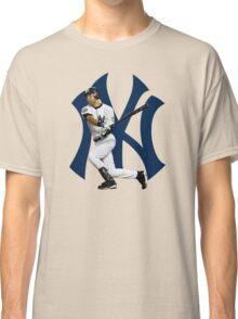 baseball bat derek jetter Classic T-Shirt