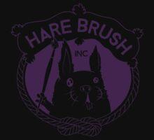 Hare Brush Inc Logo - Purple Baby Tee