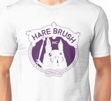 Hare Brush Inc Logo - Purple Unisex T-Shirt