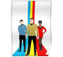 Star Trek - Tricolour Starfleet (TOS) Poster