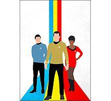 Star Trek - Tricolour Starfleet (TOS) Photographic Print