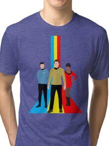 Star Trek - Tricolour Starfleet (TOS) Tri-blend T-Shirt