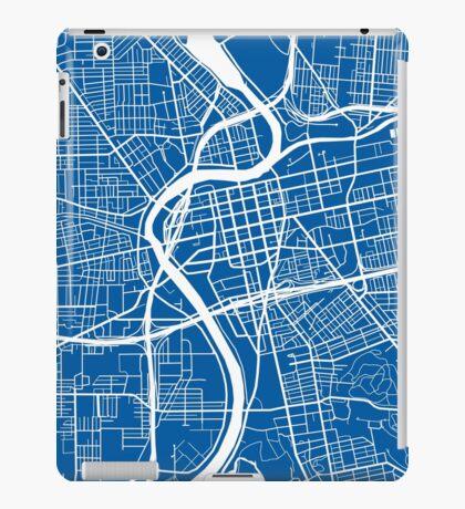 Dayton Map - Deep Blue iPad Case/Skin