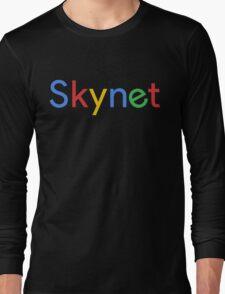 Terminator Skynet (Google) New Logo Long Sleeve T-Shirt