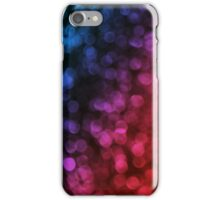 Out of focus lights iPhone Case/Skin