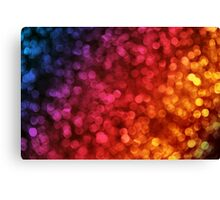 Out of focus lights Canvas Print