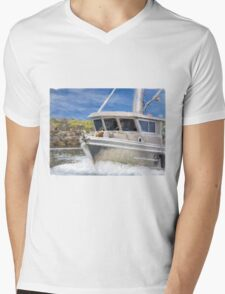 Fisherman's Prayer - West Coast Art Mens V-Neck T-Shirt