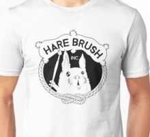 Hare Brush Inc Logo - Black Unisex T-Shirt