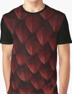 Red Dragon's Scales Graphic T-Shirt
