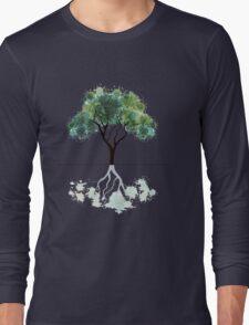 Abstract tree Long Sleeve T-Shirt
