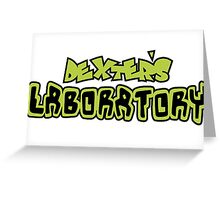 Dexters Labratory  Greeting Card