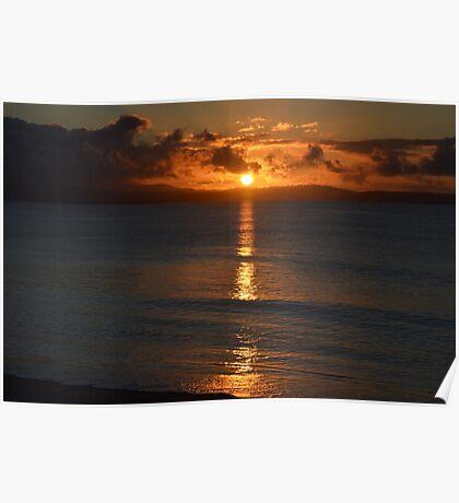 A Tasmanian Sunrise Poster