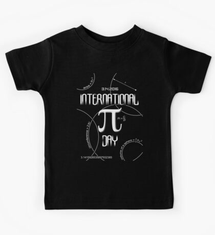 International Pi Day Kids Tee