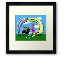 Adventure Time Togetherness  Framed Print