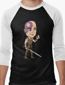 Baldur's Gate - Minsc the Ranger with Boo the Hamster Men's Baseball ¾ T-Shirt
