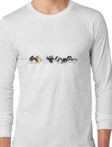 Guinea pig parade Long Sleeve T-Shirt