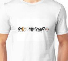 Guinea pig parade Unisex T-Shirt