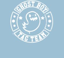 Ghost Boy Tag Team  Womens Fitted T-Shirt