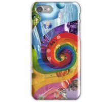 Colour wheel collage iPhone Case/Skin