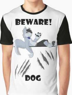 Beware dog claws and paws Graphic T-Shirt