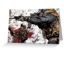 Private military contractor  Greeting Card