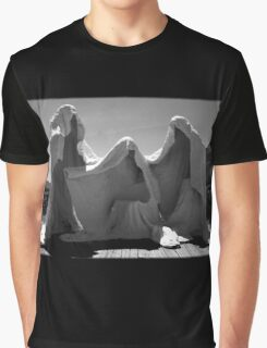 In Threes Graphic T-Shirt