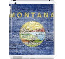 Montana Flag iPad Case/Skin