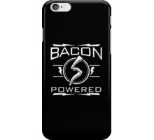 bacon powered iPhone Case/Skin