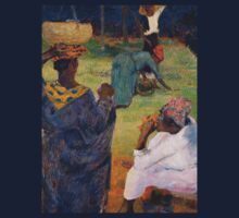 1887 - Gauguin - Among the mangoes at Martinique Kids Tee