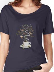 A Cup of Dreams Women's Relaxed Fit T-Shirt