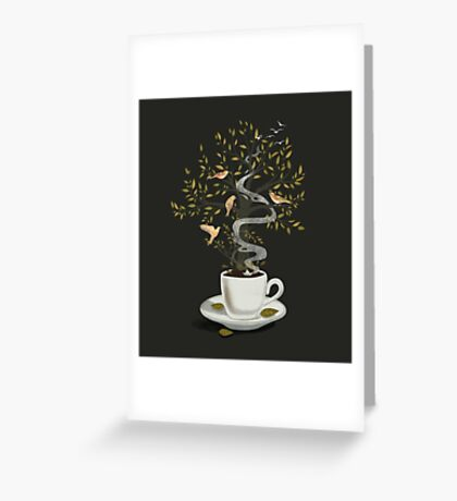 A Cup of Dreams Greeting Card