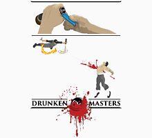 Drunken Ninja (Dark Lettering) Unisex T-Shirt