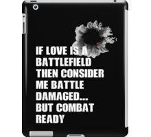 battle damaged iPad Case/Skin