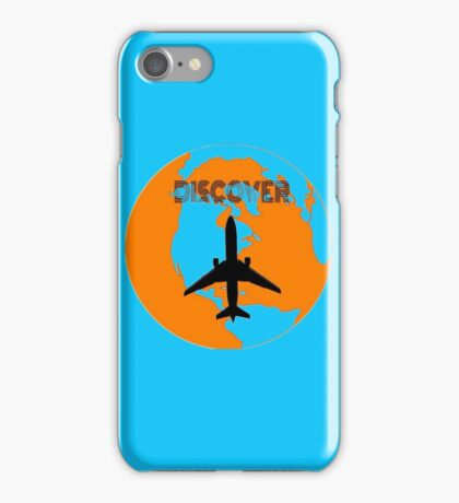 World- discover- airplane iPhone Case/Skin