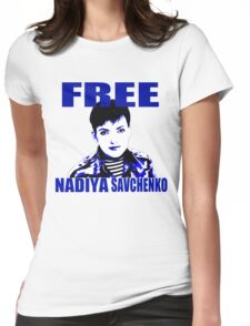 Free Nadiya Savchenko - ONE:Print Womens Fitted T-Shirt