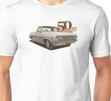 HR Holden Ute - 50th Anniversary - White Unisex T-Shirt